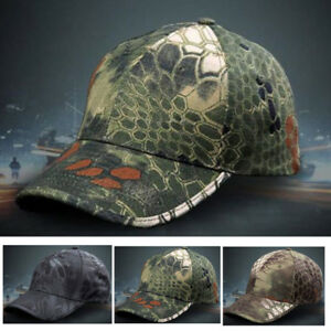 Homme-Chapeau-Reglable-Camouflage-Peche-Militaire-Casquette-Hat-Soleil-Sport