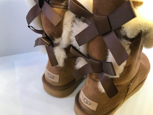 8 Boots Bailey 5 Calf Suede Size Uk Bow Ugg Ii Chestnut Ladies XU4AqvU