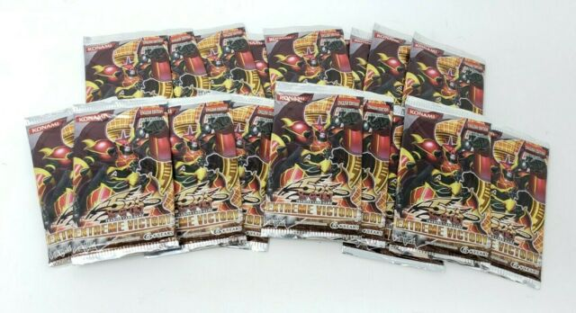 Lot of 18 YuGiOh 5D's Extreme Victory 9-Card Booster Pack English 1st Edition NE