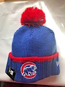 chicago cubs winter hat knit walking bear logo brand. Black Bedroom Furniture Sets. Home Design Ideas