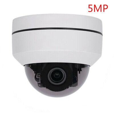 5.0MP Mini PTZ IP Camera Super HD 2592x1944 Pan//Tilt 4X Zoom IR Dome Camera PoE