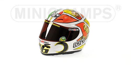 Casque miniature Pilote Rossi GP Mugello 1/2 327060076 Minichamps