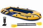 Intex 68370E Challenger 3 Set Lake Boat