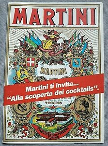 MARTINI-COCKTAILS-RICETTARIO-PUBBLICITARIO-MARTINI-vintage-ANNI-60-70-14-pagg