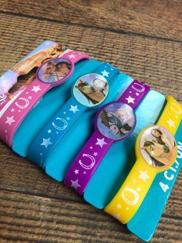 Spirit Riding Free Rubber Bracelets Birthday Party Favors~ 4 Bracelets