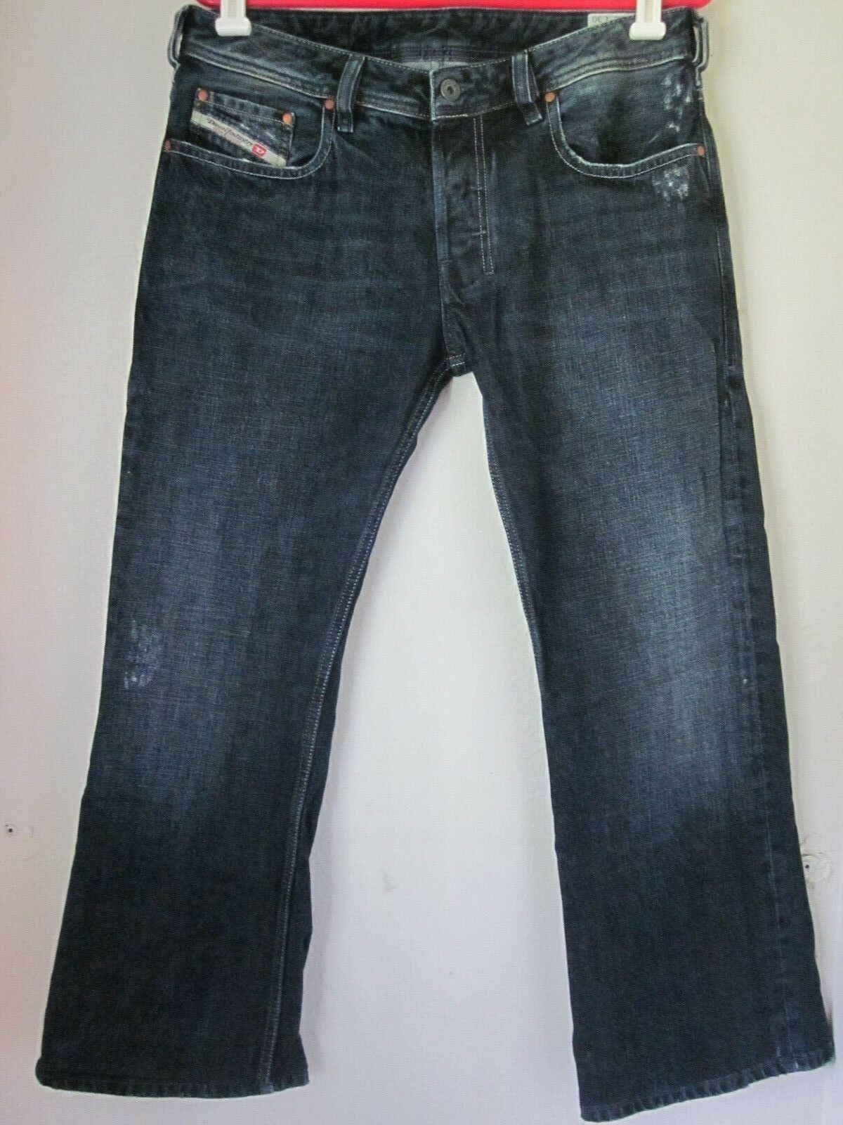Men's Diesel Zathan Jeans 32x28 WASH 0071s button fly bootcut