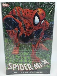 1st Printing Spider-Man By Todd McFarlane HC New SEALED 9781302900731