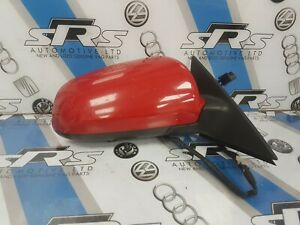 AUDI A3 8P Driver Electric Wing Mirror in Brilliant Red - LY3J 3 DOOR