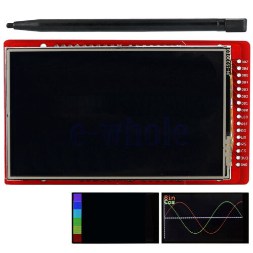 "3.2/"" TFT LCD Touch Screen Expansion Shield with Touch Pen for Arduino WT"