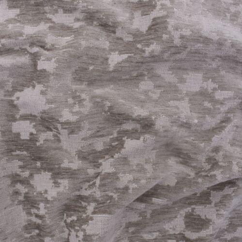Callas Plata Ovillada Chenille envejecido Abstracto Terciopelo Tela de tapicería