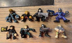 G.I.Joe Combat Heroes - Lot of 8 Figures