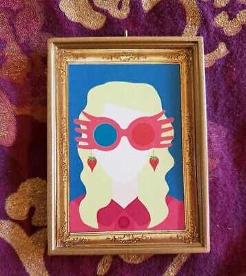 Luna Lovegood Harry Potter Inspired Christmas Ornament//Magnet//Dollhouse Mini