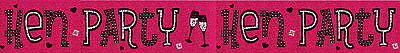 Hen Party Banners ideal party decorations 12 designs hen party/sash wall banners