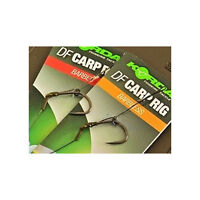 Korda DF Ready Tied Carp Rigs, All Sizes, Barbed & Barbless
