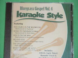 Karaoke Entertainment Bluegrass Gospel Volume 4 Christian Karaoke Style New Cd+g Daywind 6 Songs Musical Instruments & Gear