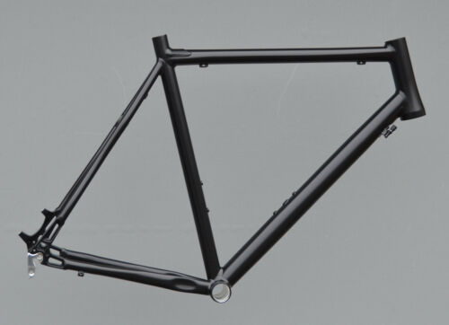 Cyclocross Cadre Crozzroad Disc RH 60 cm en noir mat Gravel TPR