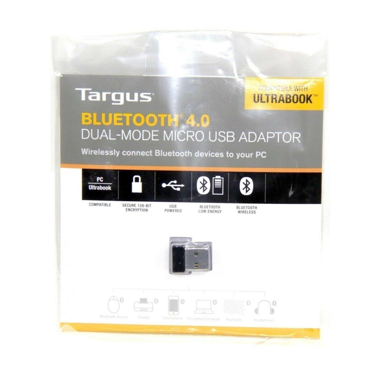 Targus ACB75AU Bluetooth 4.0 USB Adapter for sale online | eBay