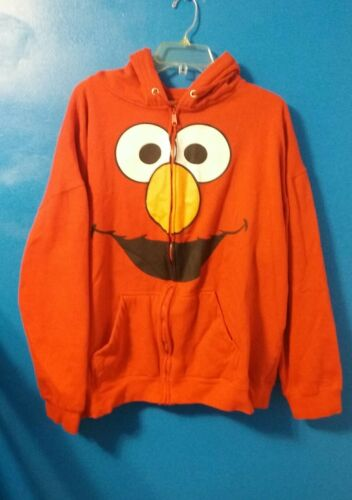 manches Elmo Me Sesame 2x longues Tickle Street capuche Sweat à femmes 2xl WED9H2YI