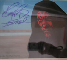 10x8 Signed Photo of Star Wars Darth Maul - Ray Park