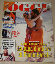 OGGI=2002/20=PAOLA BARALE=RAZ DE GAN=MADONNA=JILL COOPER=DAVID TREZEGUET=GIROTTO