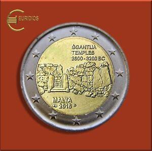 2-Euro-Gedenkmuenze-Malta-2016-034-Ggantija-034-mit-Mzz-der-MdP-Einzelstueck