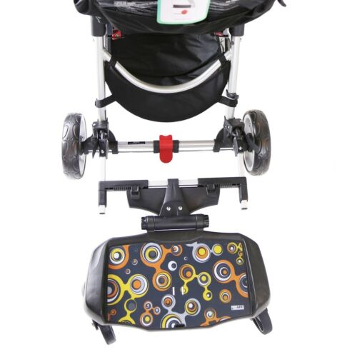 Ride On Pram Buggy Board With Saddle Or Seat To Fit Jane Slalom Pro