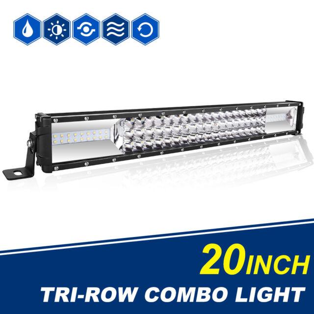 22inch 1350W Led Light Bar Spot Flood  For Offroad 4WD Truck ATV SUV Truck PK 24