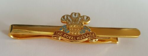 Regimental Tie Clip  British Army  ROYAL HUSSARS