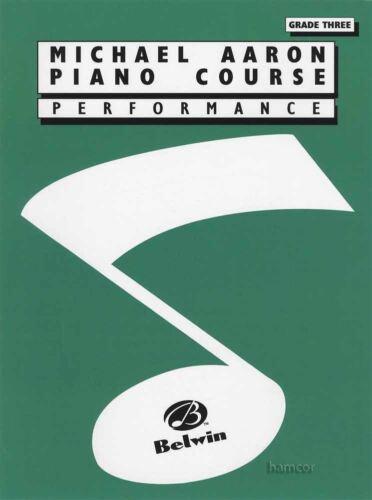 Michael Aaron Piano Course Performance Grade 3 Sheet Music Book