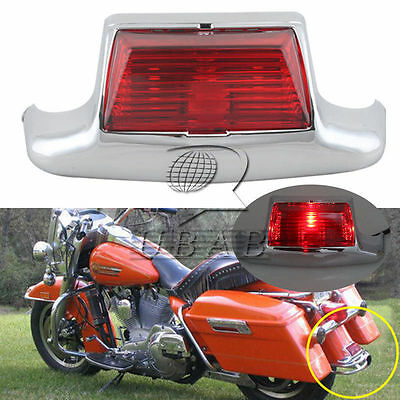 12v Front Fender Tip LED Light For Harley Electra FLHTCU FLSTC FLHT FLTR FLSTC