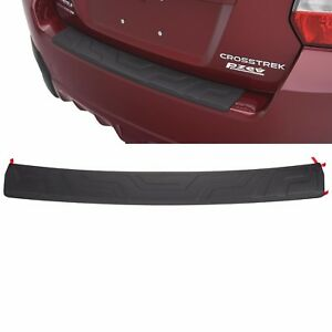 Details about OEM 2013-2017 Subaru Crosstrek Rear Bumper Cover Step Pad  Guard NEW E771SFJ401