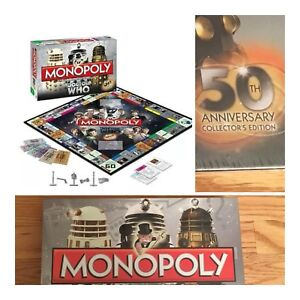 Doctor who 50th anniversary limited edition version of monopoly.