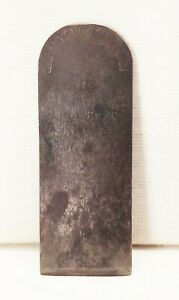 Vtg-Stanley-rule-amp-level-co-block-wood-plane-blade-iron-1-5-16-034-wood-tool