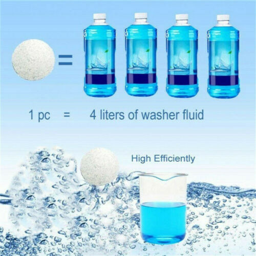 10x Solid Washing Machine Cleaner Effervescent Tablet Washer Deep Cleaning sheet