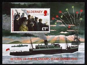 Constructif 103091/alderney 1995-bl. 1-retour Des Habitants - **-afficher Le Titre D'origine