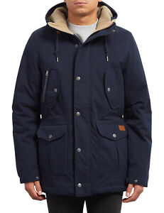 Navy Volcom Parka Jacket In Starget qTwfIwP