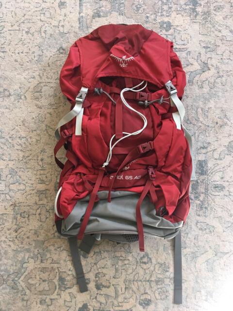 Osprey Ariel 65 AG-Women 's Medium-Picante rouge