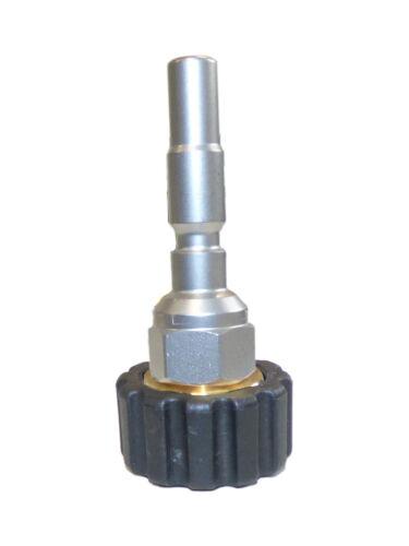 Adaptador para acoplamiento rápido kränzle hobby serie k1050 stecknippel d10-m22 IG