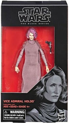 vice-amiral holdo Star Wars Black Series Nouveau #80 Action Figure 6 pouces