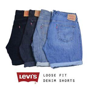 Vintage-Levis-Relaxed-Fit-Denim-Shorts-Levi-28-30-31-32-33-34-36-38-40