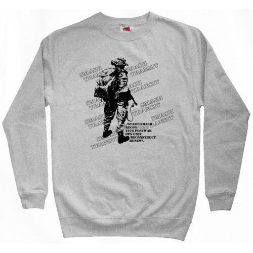 Recon Squad Sweatshirt Crewneck Army Marines Military PT Infantry  Men S-3XL