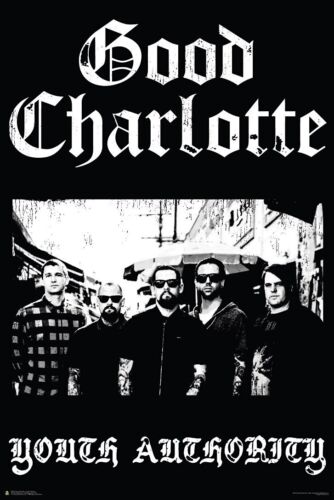 GOOD CHARLOTTE 24x36 MUSIC 3302 YOUTH AUTHORITY POSTER