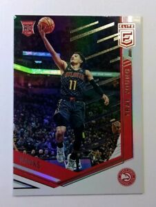 2019-18-19-Panini-Chronicles-Elite-Trae-Young-Rookie-RC-272-Atlanta-Hawks