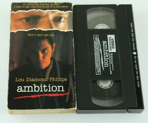 Ambition-VHS-Lou-Diamond-Phillips-1992-90s-Thriller-Haing-S-Ngor-Clancy-Brown