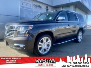 2017 Chevrolet Tahoe Premier 4WD * CLEAN CARFAX * ONE OWNER * HEATED+VENTED LEATHER * DVD *