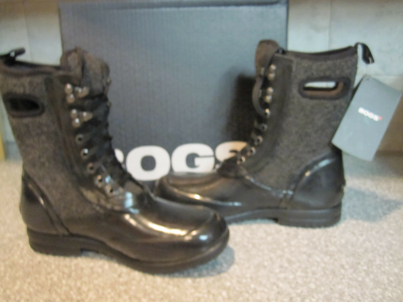 BOGS Waterproof Neoprene Sidney Wool Damenschuhe -15 Lace Up NIB Walking Stiefel 6 NIB Up c7e303