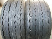 One 20.5/8.00x10, 20.5/800-10 Tubeless 10 Ply Boat, Utility, Trailer Tire