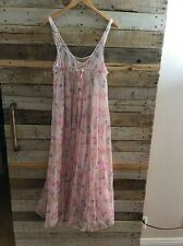 Women's Vintage Large Fredericks Of Hollywood Nightgown Lingerie Floral AA3