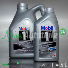 5L (4L+1L) MOBIL1 FS X1 PEAK LIFE 5W-50 MOTORÖL 5W50 MOTORENÖL MOBIL 1 NEU