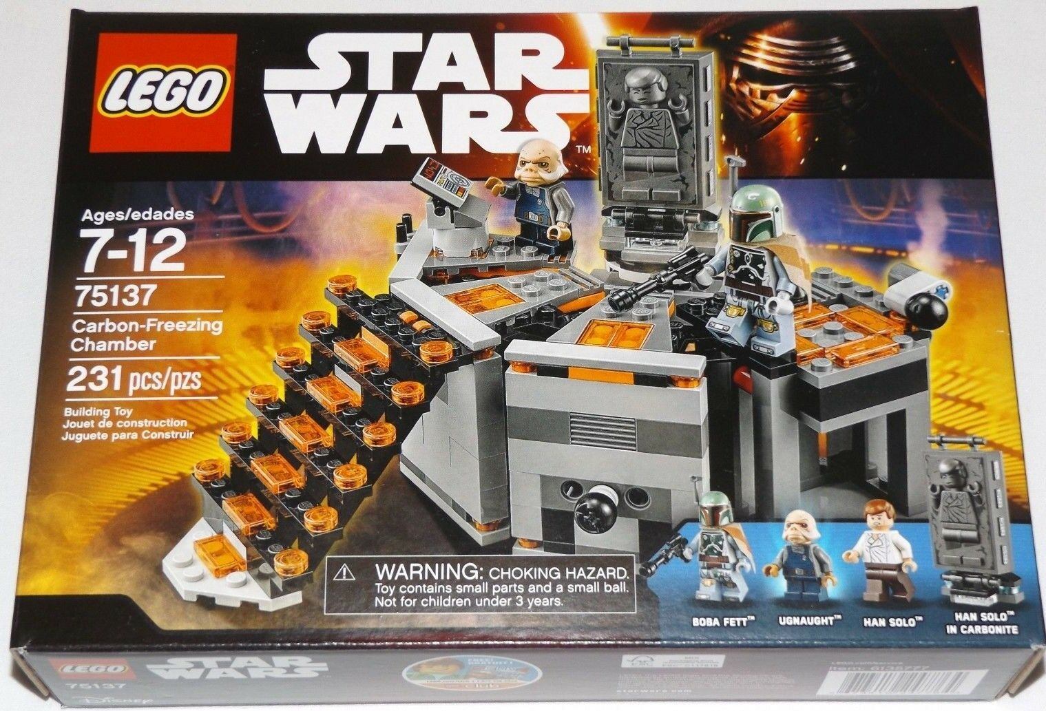 LEGO 75137 Star Wars Carbon-Freezing Chamber Boba Fett Ugnaught Han Solo